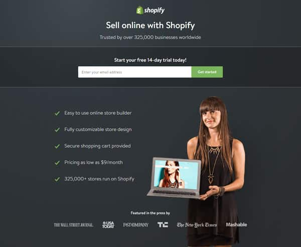 landing page-shopify agence web marseille les resoteurs