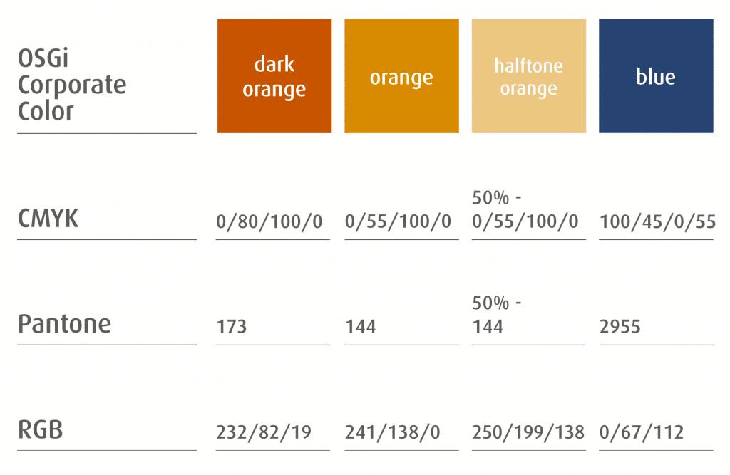 valeur pantone charte graphique