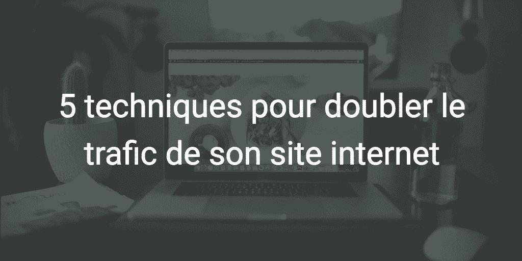 doubler tafic web