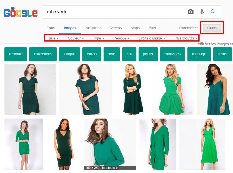 google image recherche