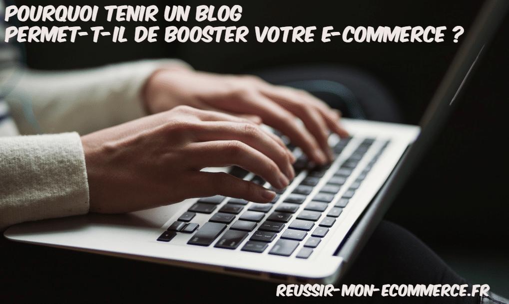 reussir blog e-commerce